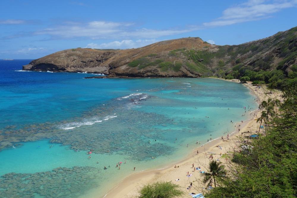Hanauma Bay Hawaii Schönste Strände