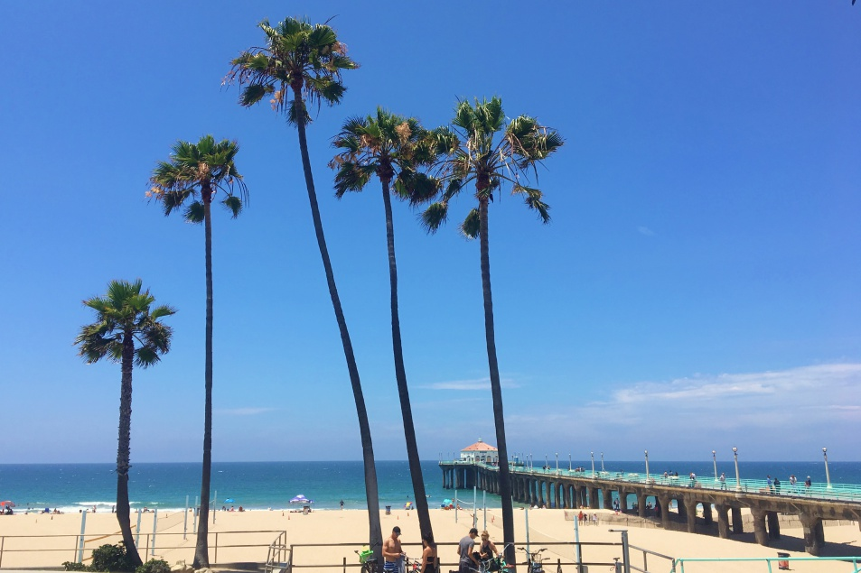 Manhatten Beach LA Schönste Strände
