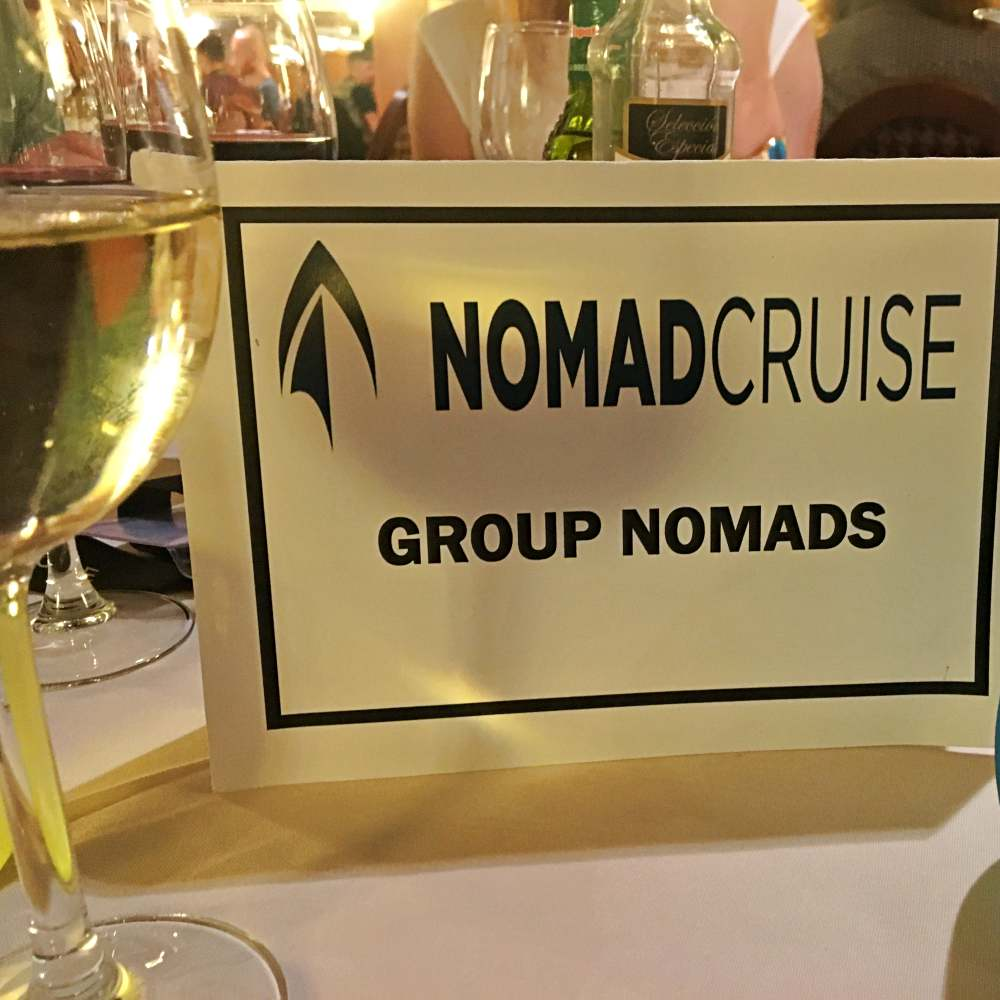 Nomadcruise Dinner