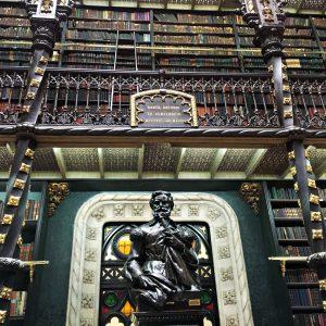Die Portugiesische Bibliothek in Rio