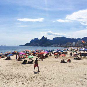 An der Copacabana...