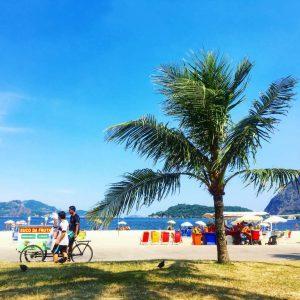 Am Flamengo Beach Rio