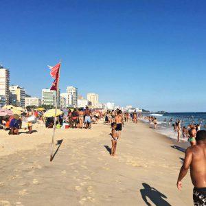 Am Strand von Ipanema