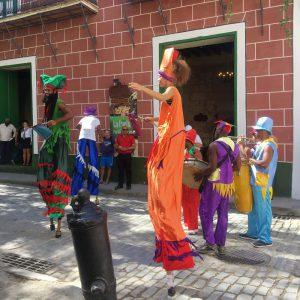 Musik und Tanz Havanna