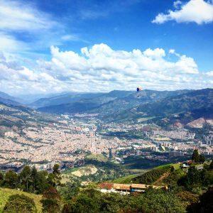 View über Medellin