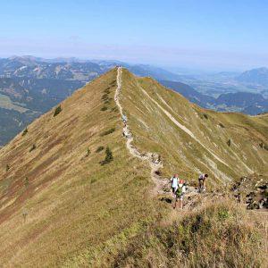 Gratwanderung Fellhorn