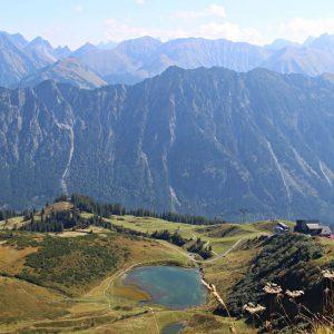 Schöner Ausblick Fellhorn