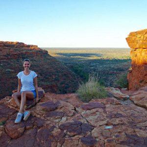 Kings Canyon Ausblick, Australien, Uluru, Ayers Rock, Northern Territory, www.soultravelista.de