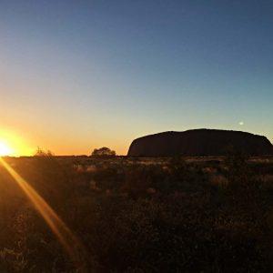 Sonnenaufgang Uluru, Ayers Rock, www.soultravelista.de, Gruppenreise