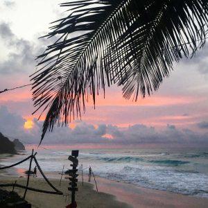 Sonnenuntergang Beachbar Fernando de Noronha