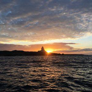 Sunset vom Tauchboot Fernando de Noronha