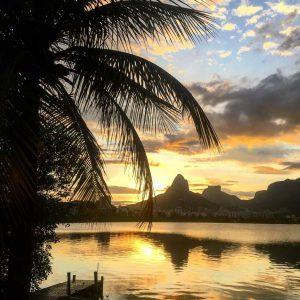 Sundowner an der Lagoa