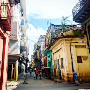 Streetlife in Havanna