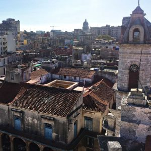View über Havanna Vieja
